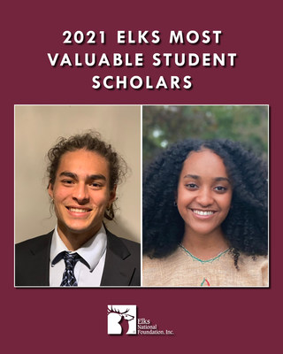The top winners of a $50,000 Most Valuable Student scholarship are Jacob Lockman, sponsored by Mount Adams (White Salmon), Wash., Lodge No. 1868, and Gellila Asmamaw, sponsored by Lancaster, Pa., Lodge No. 134.