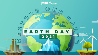Every day is Earth Day at Maps.com!