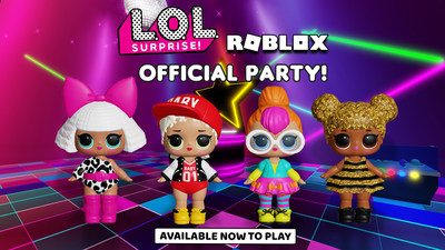 LOL Surprise™ Official Party available on Roblox
