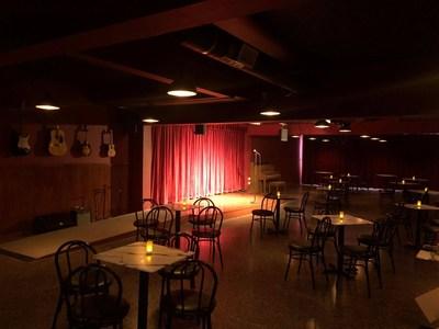 Main Showroom of the Alameda Comedy Club