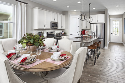 Boasting a modern layout and thoughtful design, the Ruby is one of several Seasons™ Collection floor plans available at this Richmond American community.