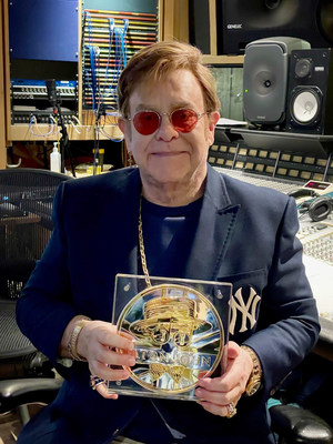Royal Mint and Elton John announce charity auction – celebrating the artist's greatest hits