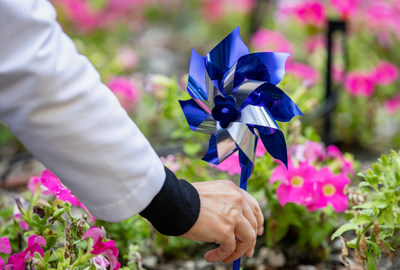 April is National Child Abuse Awareness Month and Tampa General Hospital will host a virtual Child Abuse Prevention Symposium. Hospital team members will participate in a pinwheel planting ceremony symbolizing children who have suffered abuse.
