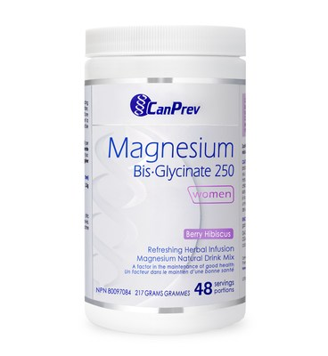 Magnesium Bis-Glycinate Powder 250 (Berry Hibiscus) (CNW Group/Health Canada)