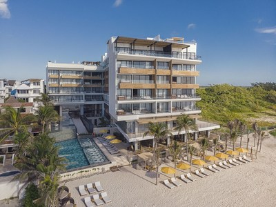 The Fives Oceanfront, a new luxury boutique hotel in Puerto Morelos, joins Preferred Hotels & Resorts' L.V.X. Collection