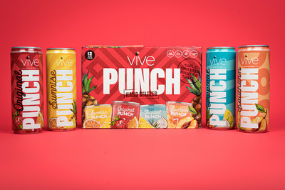 Launch of VIVE PUNCH Throughout the State of Texas
