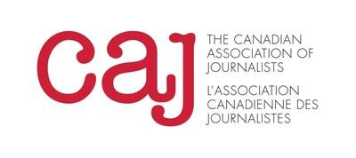CAJ Logo (CNW Group/Canadian Association of Journalists)