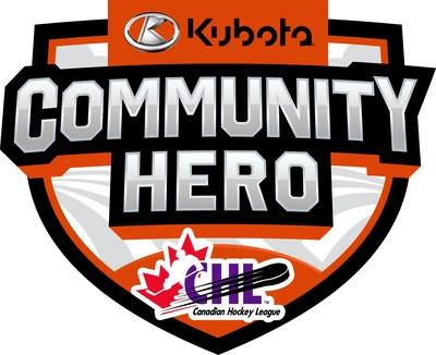 Kubota Community Hero Logo CHL (CNW Group/Kubota Canada Ltd.)