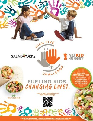 Saladworks Celebrates 35th Birthday by Fundraising for No Kid Hungry